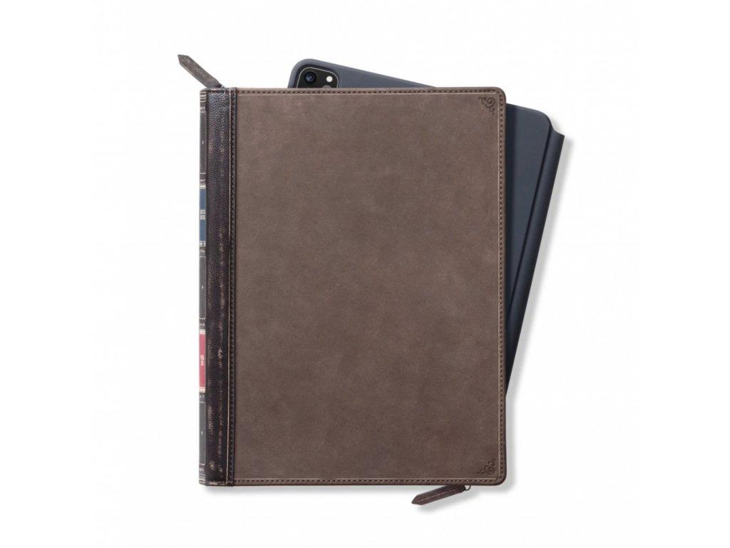 TwelveSouth BookBook Genuine Leather Cover Vol. 2 for iPad Pro 11 (2020) - Brown