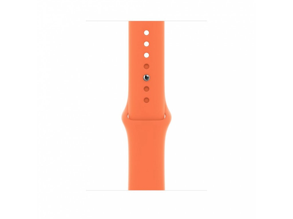 Apple Watch 44mm Band: Kumquat Sport Band - Regular (Seasonal Nov2020)
