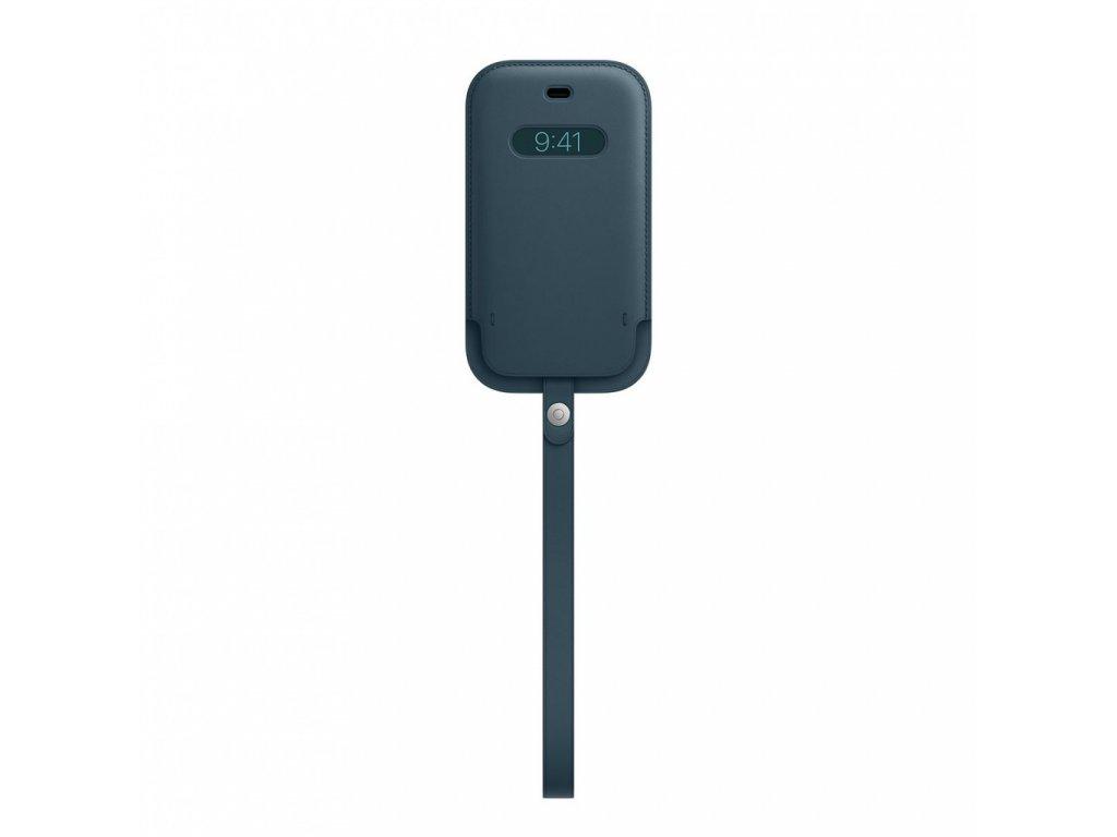 Apple iPhone 12 mini Leather Sleeve with MagSafe - Baltic Blue (Seasonal Nov 2020)