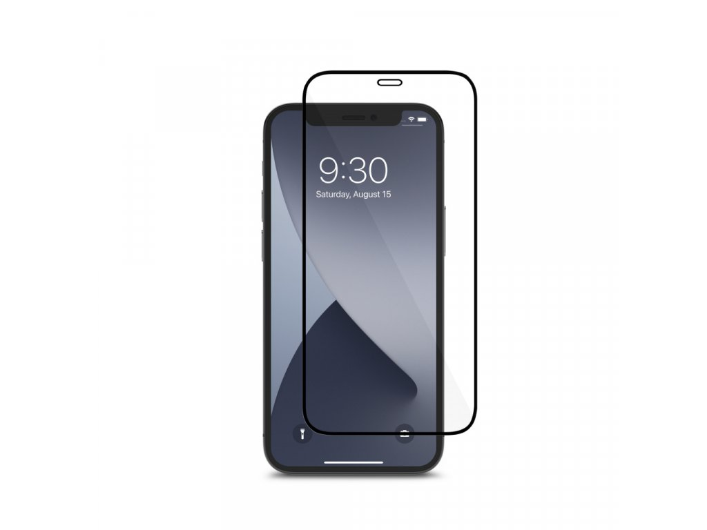 Moshi AirFoil Pro Anti-shatter screen protector for iPhone 12 mini - Black