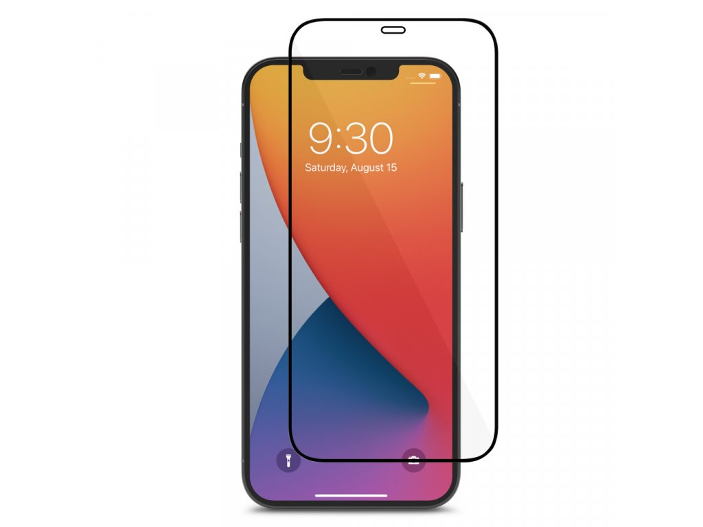 Moshi AirFoil Pro Anti-shatter screen protector for iPhone 12 Pro Max - Black