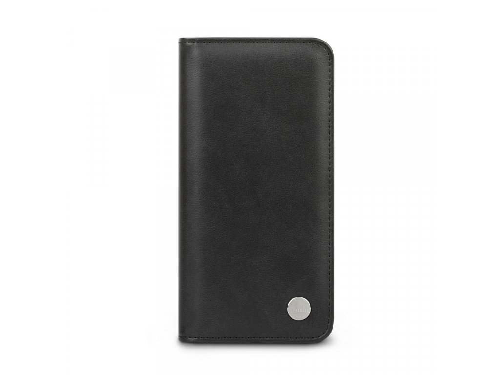 Moshi Overture Case w Detachable Magnetic Wallet for iPhone 12/12 Pro (SnapToª) - Jet Black