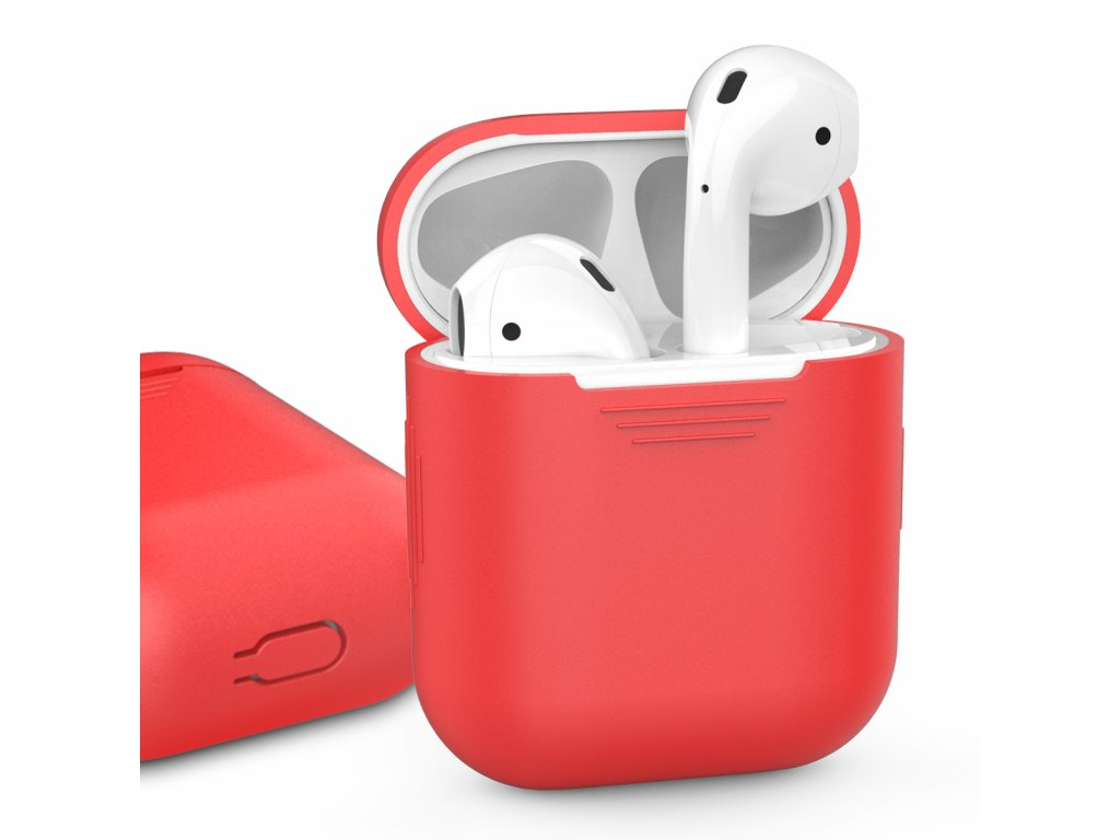 AhaStyle Silicone Case for AirPods - Red