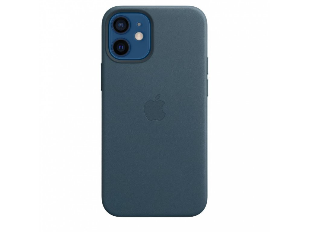 Apple iPhone 12 mini Leather Case with MagSafe - Baltic Blue (Seasonal Fall 2020)