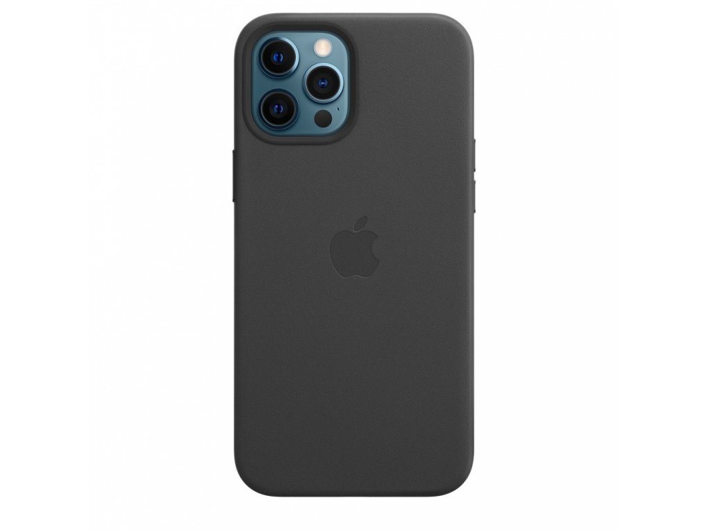 Apple iPhone 12 Pro Max Leather Case with MagSafe - Black