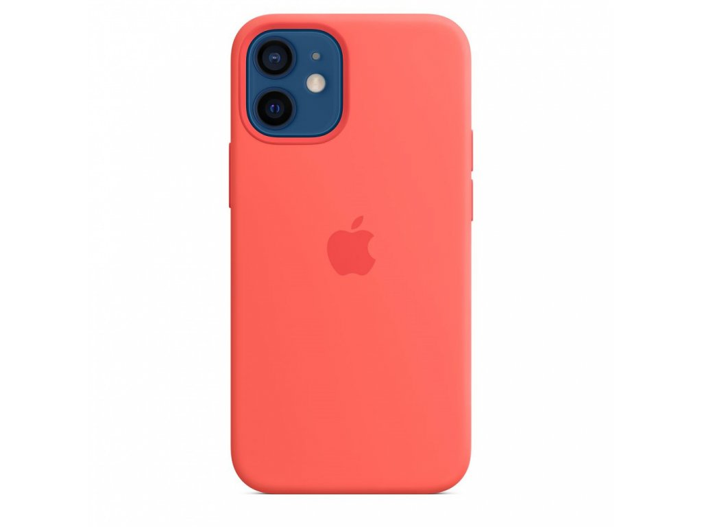 Apple iPhone 12 mini Silicone Case with MagSafe - Pink Citrus (Seasonal Fall 2020)
