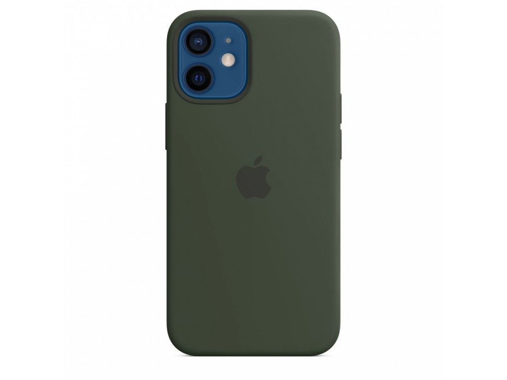 Apple iPhone 12 mini Silicone Case with MagSafe - Cypress Green (Seasonal Fall 2020)