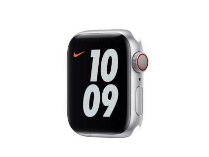 Apple Watch Nike S6 GPS + Cellular, 40mm Silver Aluminium Case Only (DEMO)