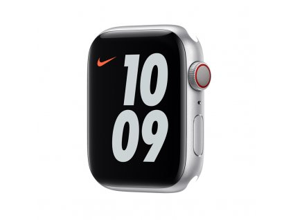 Apple Watch Nike S6 GPS + Cellular, 44mm Silver Aluminium Case Only (DEMO)