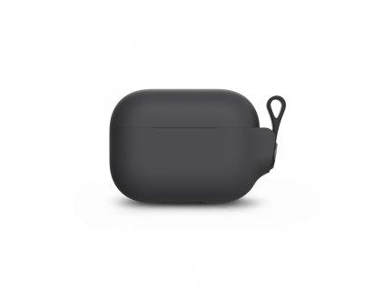 Moshi Pebbo AirPods Pro Case Detachable Wrist Strap & LintGuardª Protection - Shadow Black
