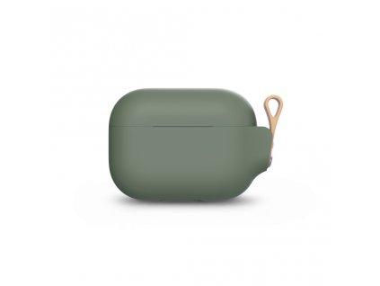 Moshi Pebbo AirPods Pro Case Detachable Wrist Strap & LintGuardª Protection - Mint Green