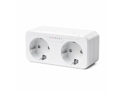 Satechi Apple Homekit Dual Smart Outlet (EU) - White