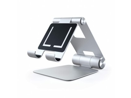 Satechi Aluminium R1 Adjustable Mobile Stand - Silver