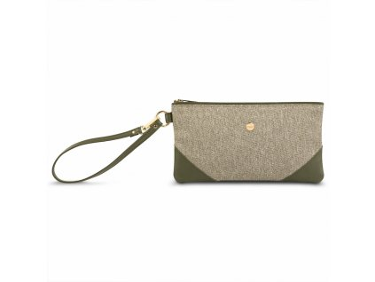 Moshi Wristlet clutch - Olive Green