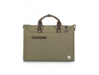 Moshi Urbana Laptop briefcases Lite - Herringbone Green