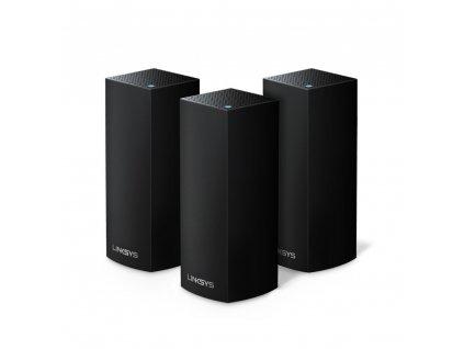 Linksys Velop Intelligent Mesh WiFi System, Tri-Band, 3-Pack Black (AC6600)