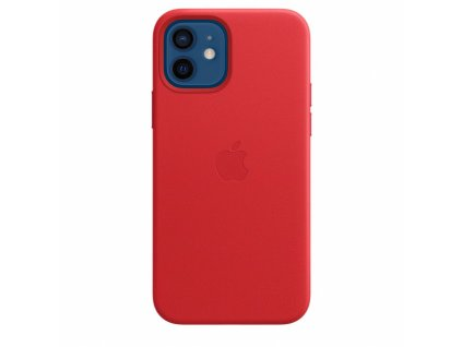 Apple iPhone 12/12 Pro Leather Case with MagSafe - (PRODUCT)RED