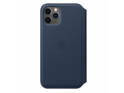 Apple iPhone 11 Pro Leather Folio - Deep Sea Blue (Seasonal Spring2020)