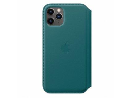 Apple iPhone 11 Pro Leather Folio - Peacock (Seasonal Spring2020)