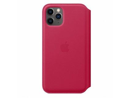 Apple iPhone 11 Pro Leather Folio - Raspberry (Seasonal Spring2020)