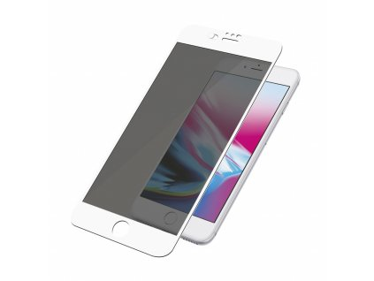 PanzerGlass Screen Protector Glass Edge-to-Edge (Case Friendly with Camera slider) Privacy for Apple iPhone 6/6s/7/8 Plus White