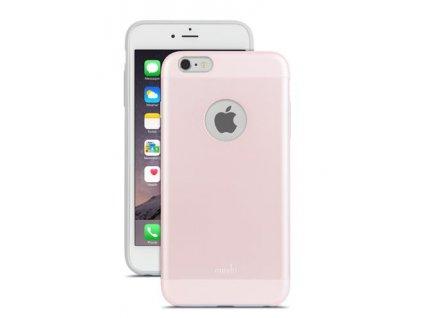 Moshi iGlaze obal pro iPhone 6 Plus - Carnation Pink