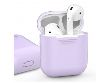 AhaStyle Silicone Case for AirPods - Lavender