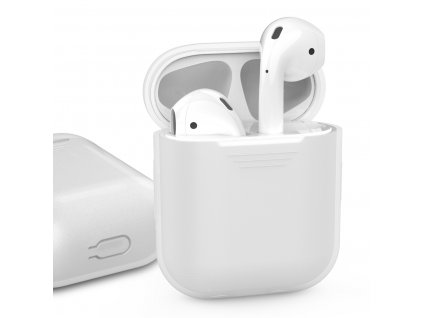 AhaStyle Silicone Case for AirPods - White