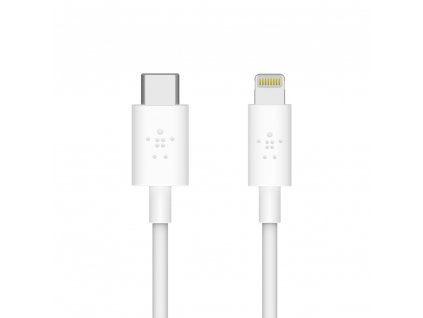 Belkin MIXIT_ª BOOST_CHARGEª Lightning to USB-C CABLE 1.2m - White