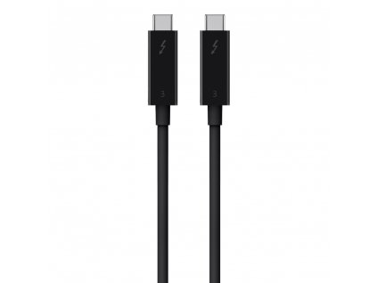 Belkin Thunderbolt 3 2M cable (USB-C to USB-C) - Black