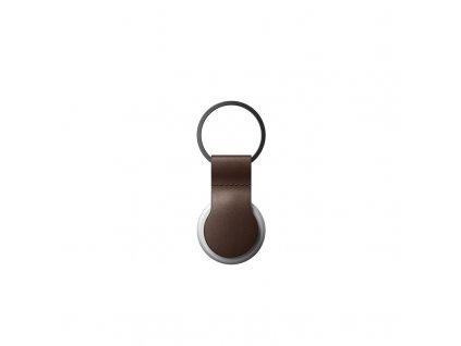 Nomad Leather Loop, brown - Airtag