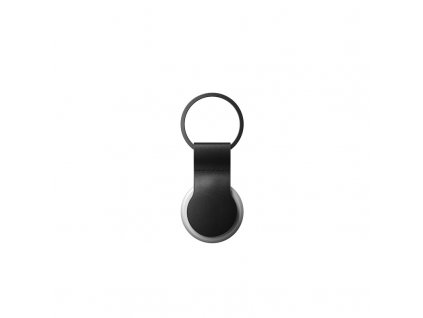 Nomad Leather Loop, black - Airtag
