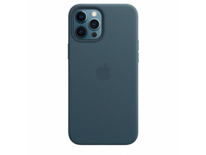Apple iPhone 12 Pro Max Leather Case with MagSafe - Baltic Blue (Seasonal Fall 2020)