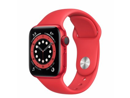 Apple Watch S6 GPS + Cellular, 40mm PRODUCT(RED) Aluminium Case with PRODUCT(RED) Sport Band - Regular