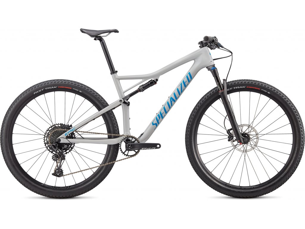Epic Comp Carbon Gloss Dove Grey Blue Ghost Pearl/Pro Blue
