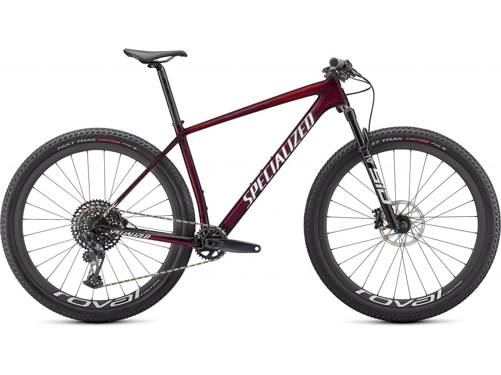 Epic Hardtail Expert GLOSS RED TINT/WHITE GHOST PEARL