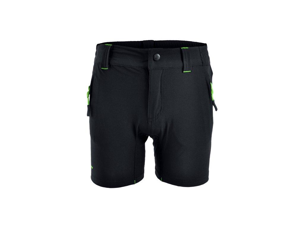 SILVINI dětské MTB cyklistické kalhoty ARVO CP813 black green - cyklo- obleceni.cz 28492031e4
