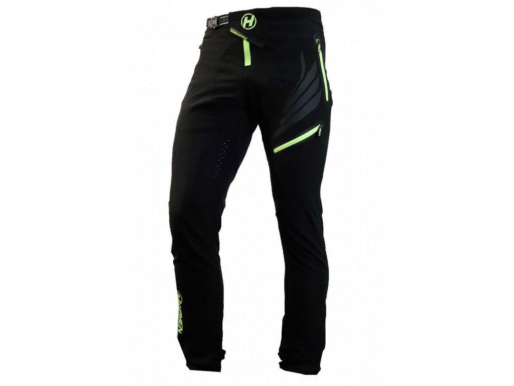 Kalhoty HAVEN Energizer Long black/green - men/women