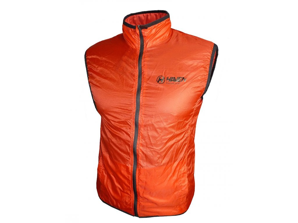 1 Featherlite Vest red black