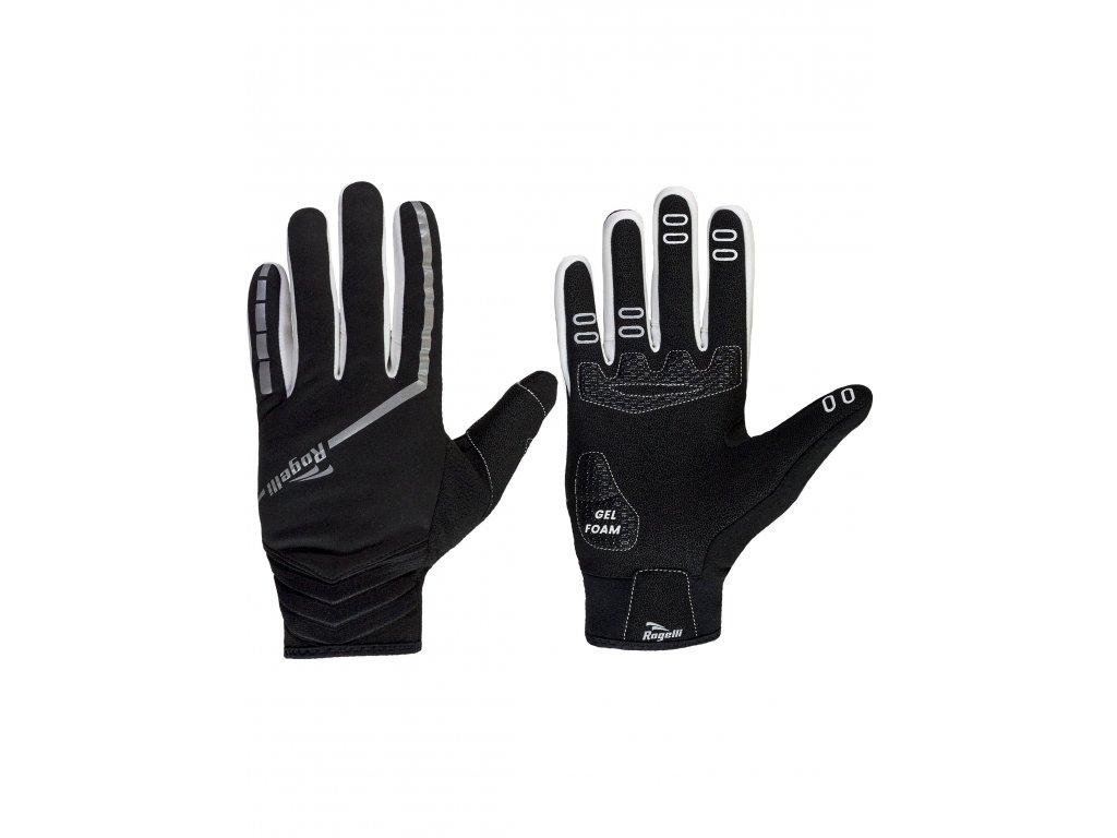 slabe zimni membranove rukavice s gelovym polstrovanim dlane rogelli inverno cerne original