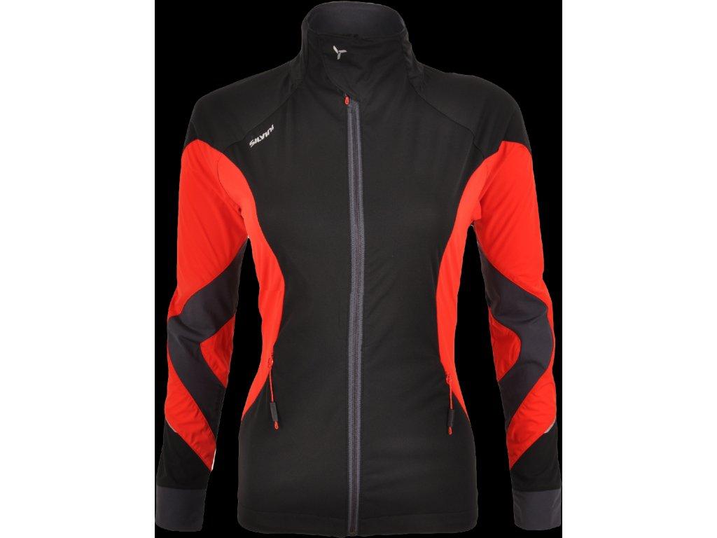 SILVINI dámská softshellová bunda SERRONE WJ1102 black red -  cyklo-obleceni.cz 2af8c3e5d38