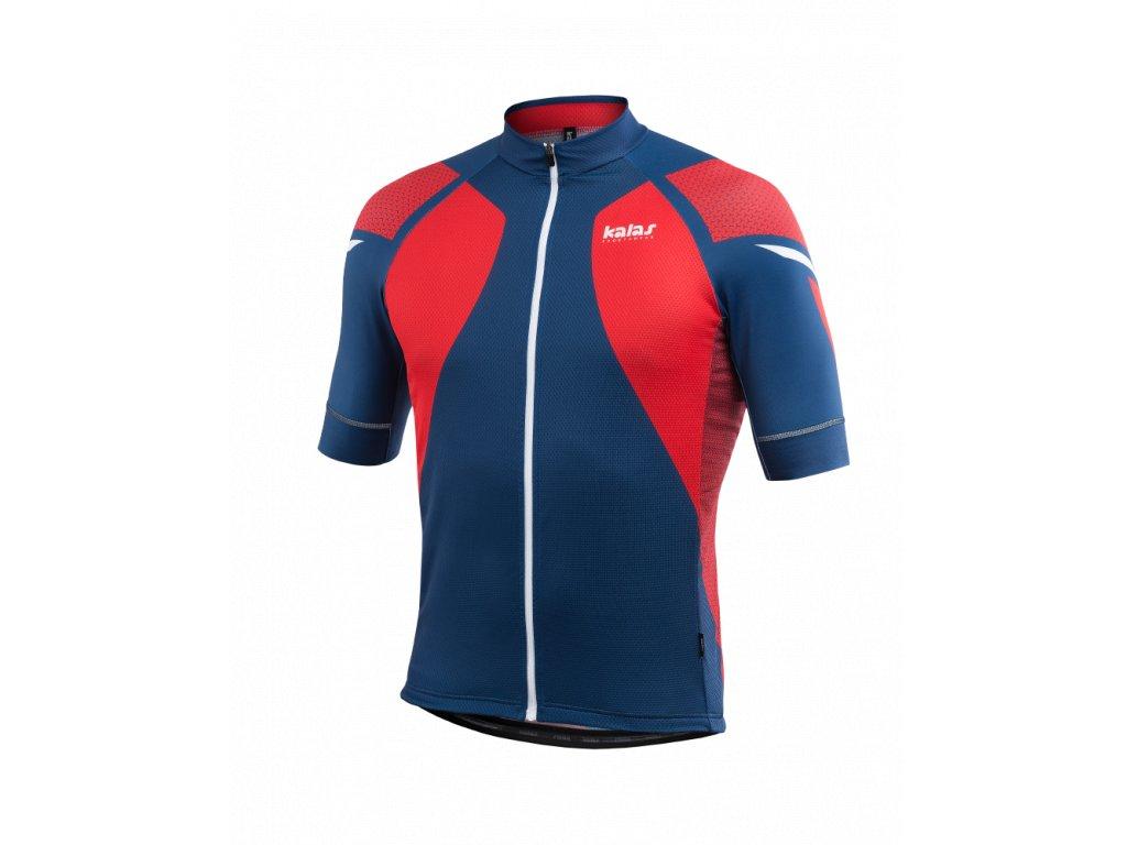 Cyklistický Dres TITAN X8 | červený/modrý