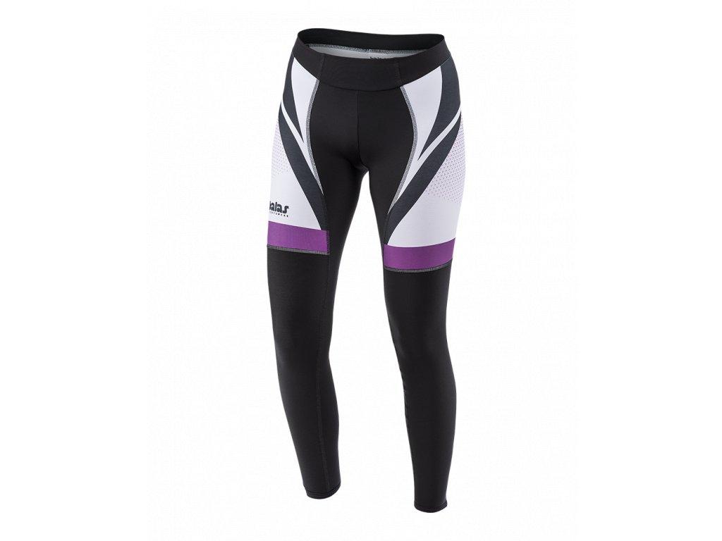 Cyklistické Dlouhé kalhoty TITAN X8 | fialové | DÁMSKÉ