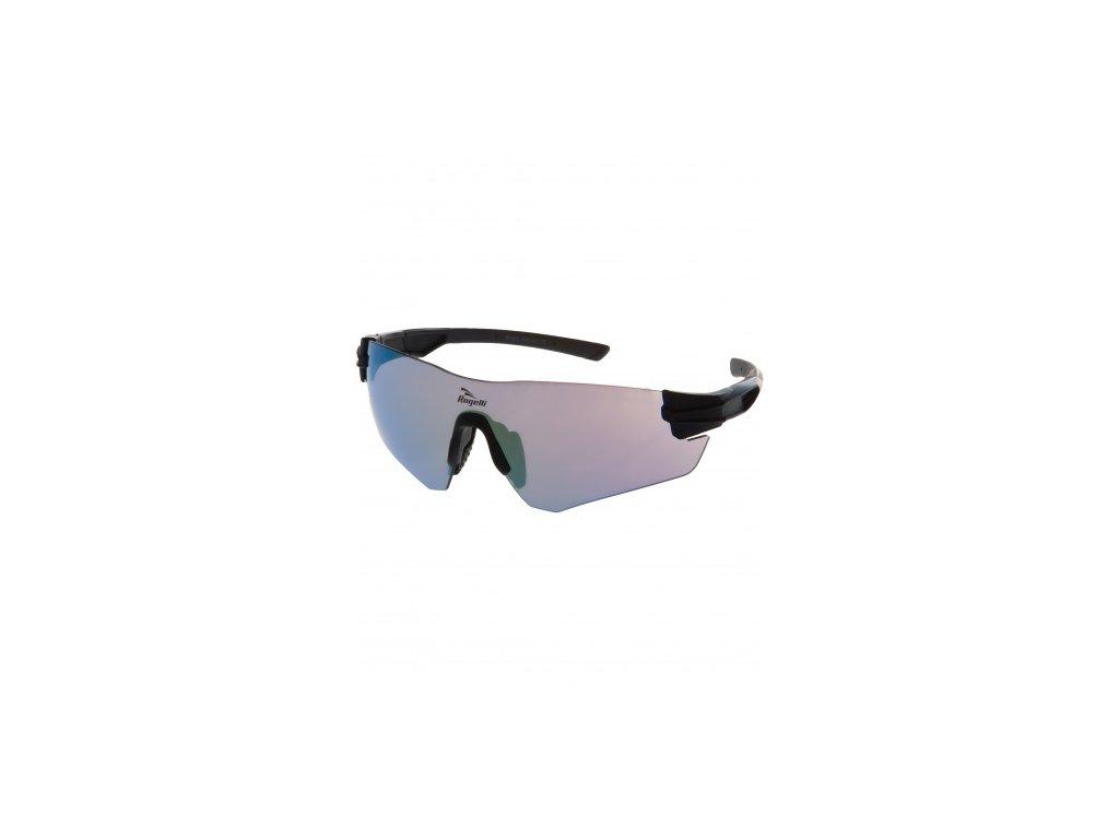 Sportovní brýle Rogelli WRIGHT s výměnnými skly, černé