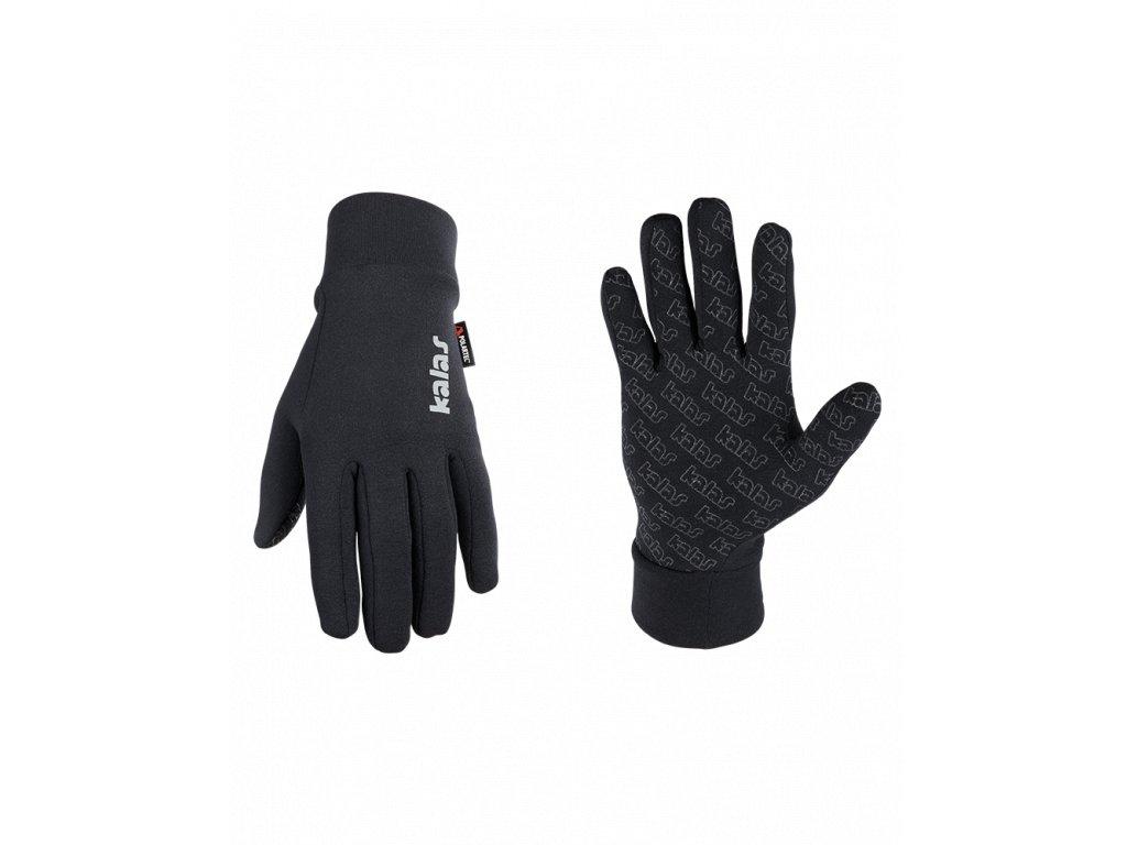 Pánské dlouhoprsté rukavice Polartec X6   černé