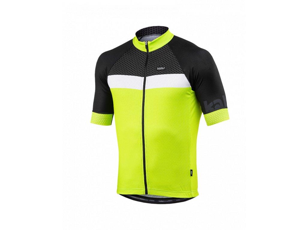 Cyklo sada oblečení Kalas PURE X9, fluo
