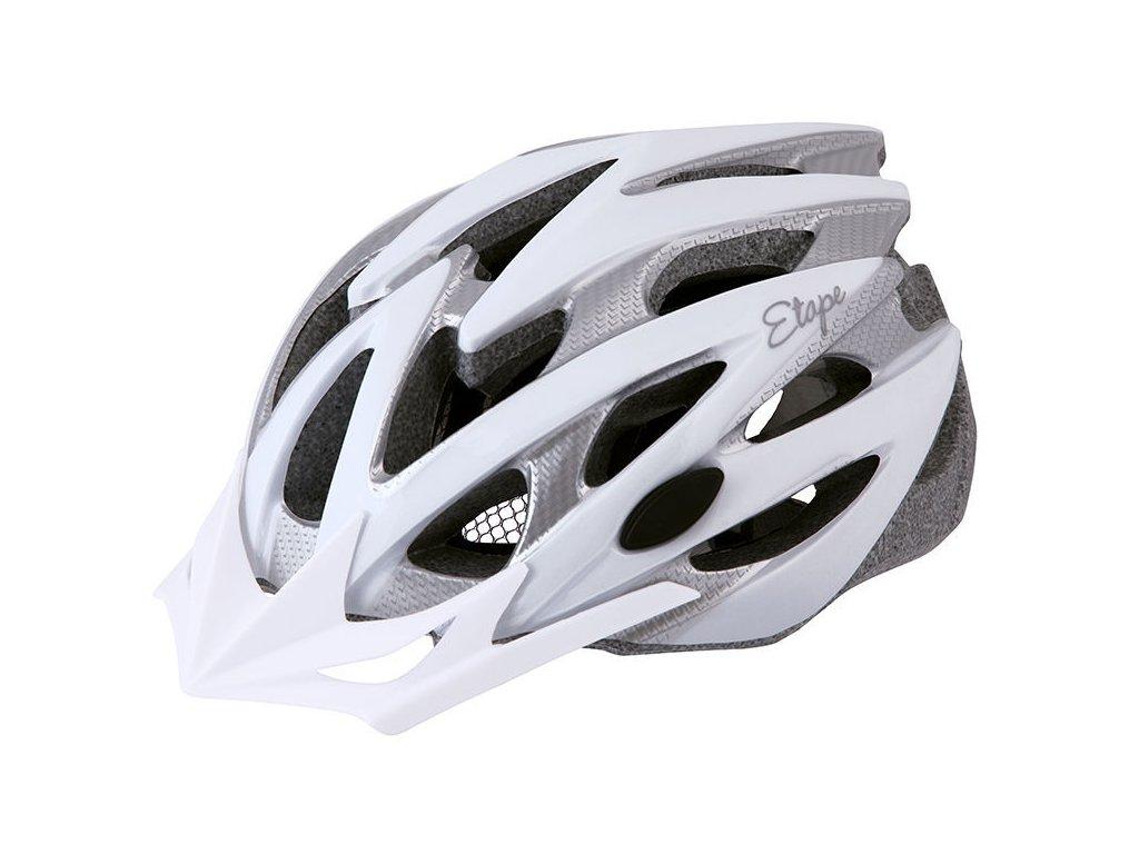 Dámská helma na kolo Etape Venus, bílá