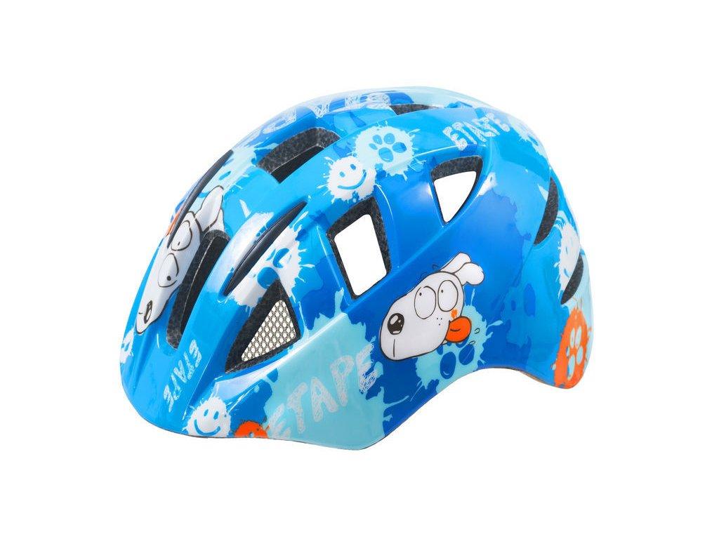 Dětská přilba na kolo Etape Kitty, modrá