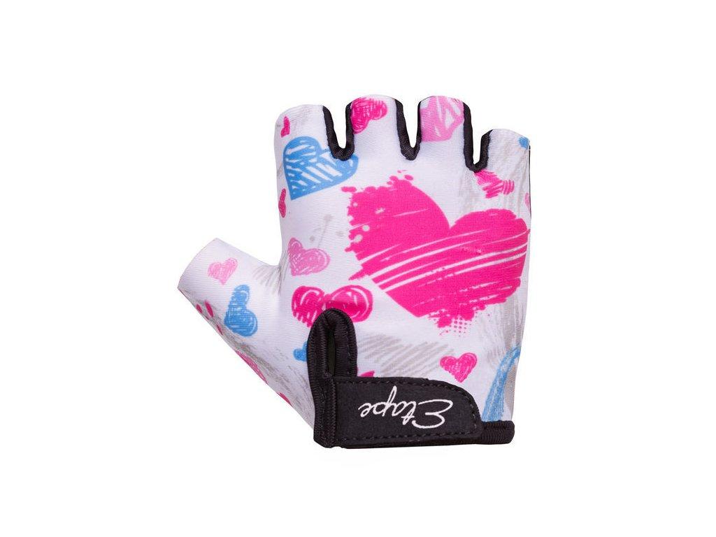 Dětské rukavice Etape Tiny, bílá