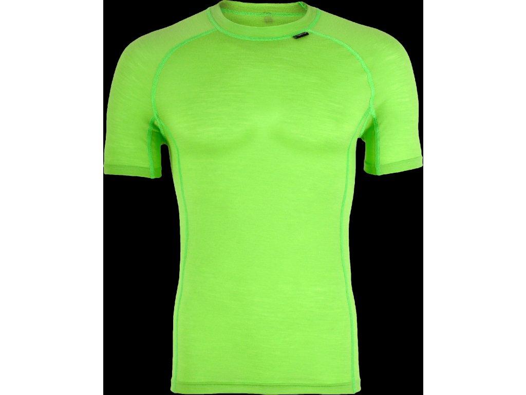 Silvini pánské triko funkční SOANA MT828, green